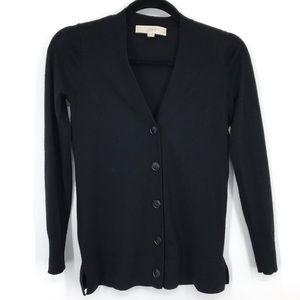 Loft petites lightweight cardigan black xxsp